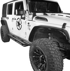Will Fit XL7 Wheel Fender Flares wide Body Flexible ABS Plastic Universal