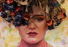 Painting. Portrait. Oil paint. Retrato. Nohemy Correa.