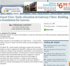 Guest View: Early education in Gateway Cities: Building a foundation for success