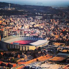 "See 18243 photos from 96427 visitors about fc barcelona, tours, and stadium. ""Take the tour through the insides of the stadium, into the visitor's. Camp Nou, Fc Barcelona, All About Spain, The Visitors, Messi, Trip Planning, Paris Skyline, Video Project, Soccer"