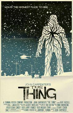 John Carpenter's The Thing Vintage-Stil-Filmplakat von TeamWelser