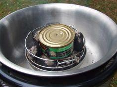 Add Woodchips to Cobb Portable BBQ Grill