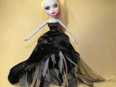 Starry Night Gown for Monster High Dolls by FreakGearbyHM on Etsy, $18.00