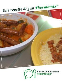 Couscous familial par Jubilette. Une recette de fan à retrouver dans la catégorie Plat principal - divers sur www.espace-recettes.fr, de Thermomix®.