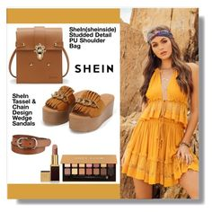 """shein"" by aminkicakloko ❤ liked on Polyvore featuring Uniqlo, Anastasia Beverly Hills and Tom Ford"