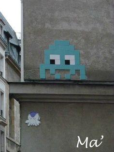 Street Art in Paris - octobre 2012