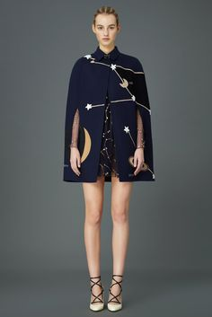 ...this Valentino Pre-Fall 2015 coat - I know the constellations are a bit much - but I love this