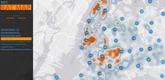 NYC Rat map