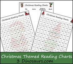 Christmas Books & Free Christmas Reading Charts