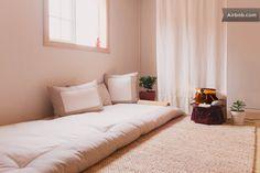 Yongsan-gu, Seúl, Corea del Sur - Korean-style bed
