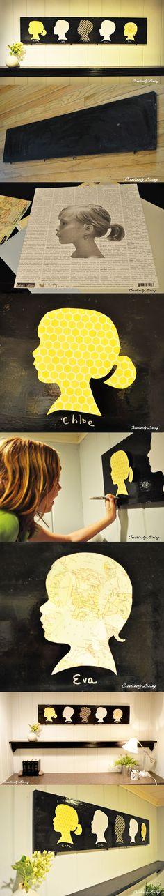 Arte con siluetas