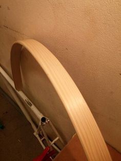 Solid wood fender