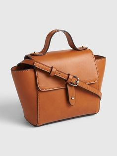 Women's Brown Mini Top Handle Crossbody Bag - All About Burberry Handbags, Prada Handbags, Leather Handbags, Burberry Bags, Leather Bags, Women's Crossbody Purse, Leather Crossbody, Chain Shoulder Bag, Small Shoulder Bag