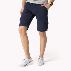 Shayne Solid Cargo Shorts | Official Tommy Hilfiger Shop