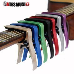 Guitar Capo para guitarras acústicas y eléctricas Total de aluminio material de Accesorios de Guitarra