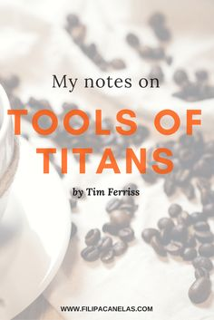 tools of titans notes