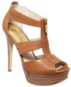 MICHAEL Michael Kors Berkley Platform Sandals - Shoes - Macy's