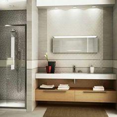 Baños ....me gusta la opcion invertida para baño en suit de casa