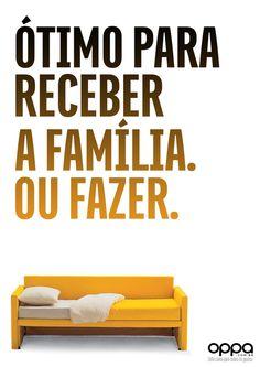 Sofa Cama - Oppa - Jessyca Silva - Copywriter