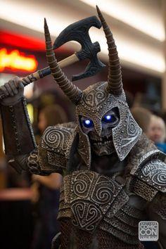 Skyrim cosplay at Salt Lake Comic Con 2014.