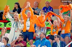 The Dutch royal family during the Olympic Games - 9GAG