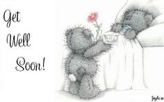 Tatty Teddy Get Well Soon