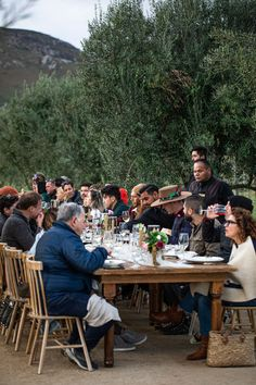 We hosted a farm to table dinner in Valle de Guadalupe, Mexico's coveted wine country. #gather #outdoordining #alfresco Sheep Cheese, Mole Sauce, Outdoor Dinner Parties, Smoked Fish, Cheese Salad, Wild Mushrooms, Baja California, Fish Dishes, Roasted Vegetables