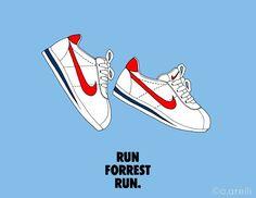 Sneakers atrwork - Nike Cortez (©co.arelli)