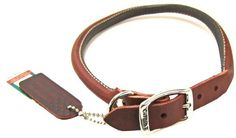 Circle T Leather Collar 3/4 in. x 20 in. Oak Tanned Chestnut -- Quickly view this special dog product, click the image : Dog muzzle