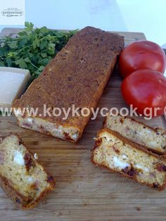 ΑΛΜΥΡΟ ΚΕΙΚ – Koykoycook Greek Recipes, French Toast, Bread, Cooking, Breakfast, Food, Baking Center, Kochen, Breads