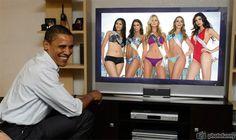 Maria Selena, Adrienne Murphy, Renae Ayris, Ana Luisa Konig, Nicole Faveron and barack obama