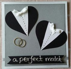 Gay wedding card