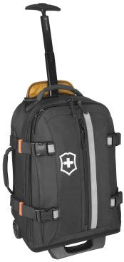 Victorinox Travel Gear - CH 20 Tourist Wheeled Carry-On Backpack Backpack With Wheels, Black Backpack, Leather Backpack, Carry On Luggage, Luggage Bags, Hand Luggage, Best Laptop Cases, Monopole, Army Watches