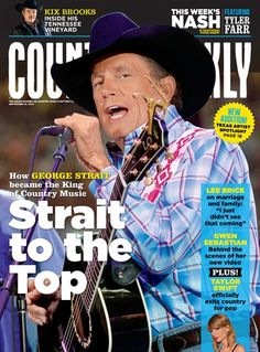 September 15, 2014 – How George Strait Became the King of Country Music - Country Weekly