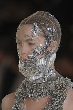 Human Sea in Alexander McQueen Spring-Summer 2012