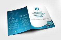 Presentation Folder by Ju design on Creative Market - Graphic Files Letterhead Template, Stationery Templates, Print Templates, Flyer Template, Design Templates, Brochure Design Layouts, Find Fonts, Booklet Design, Folder Design