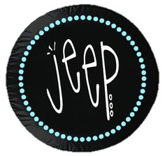 Mint Pearls Jeep Tire cover by 6DimensionalCanvas on Etsy