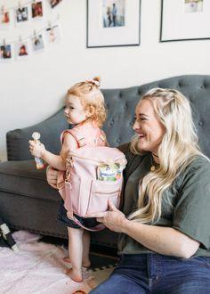 Blake's Backpack & Gerber Snacks