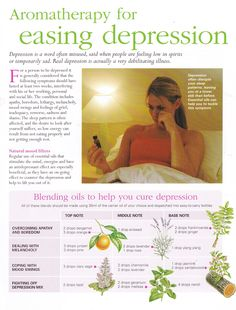 Young Living Essential Oils: Depression