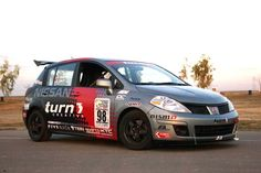 Nissan Tiida Rally Nissan Tuning, Nissan Versa, Japan Cars, Jdm, Rally, Luxury Cars, Infinity, Automobile, Racing