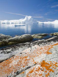 The Jacobshavn Ice Fjord in Ilulissat, Greenland