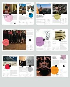 Like the circles especially in the first page second spread and last page last spread. toko magazine layout.