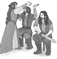 Some folk we never forget. Dis, Fernin and Thorin