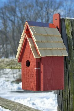 Bluebird Manor Nest Box