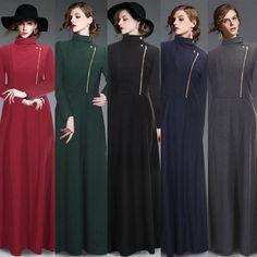 Damen Mantel Blogger Wasserfall Wintermantel Bodylong Trench coat Windbreaker