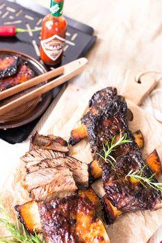 Steak, Pork, Food And Drink, Kale Stir Fry, Steaks, Pork Chops