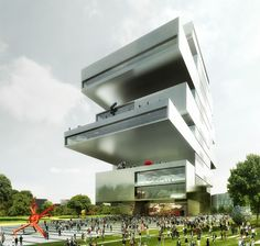 heneghan peng shortlisted for new NCCA building in moscow