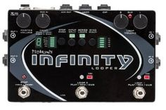 The Pigtronix Infinity Looper Pedal is the world's most musical looping pedal. Simple to operate, yet tremendously powerful and flexible, the Infinity Looper from Pigtronix sets a new world standard for Pigtronix Infinity Looper Pedallatency-free looping. Guitar Effects Pedals, Guitar Pedals, Bass Pedals, Guitar Rig, Cool Guitar, The Undone, Digital Audio, Musical Instruments, Infinity