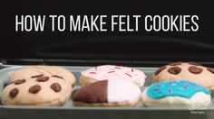 The Easiest Batch Of (Felt) Cookies You Can Make — Video from Apartment Therapy