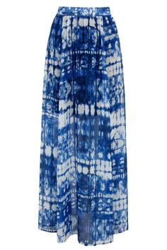 2013 Embrace your inner bohemian wildchild with these easy-to-wear dresses, tops, sandals, and more.: THE MAXI SKIRT Warehouse Tie-Dye Maxi Skirt